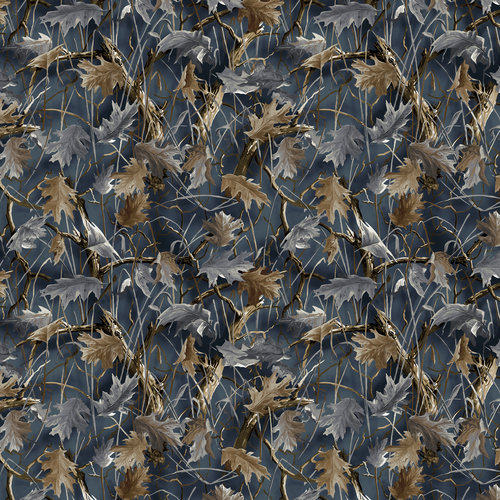 VIP Fabrics Fall Leaves Camo Fabric