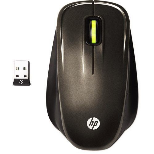 HP Wireless Optical Comfort Mouse, Graystone