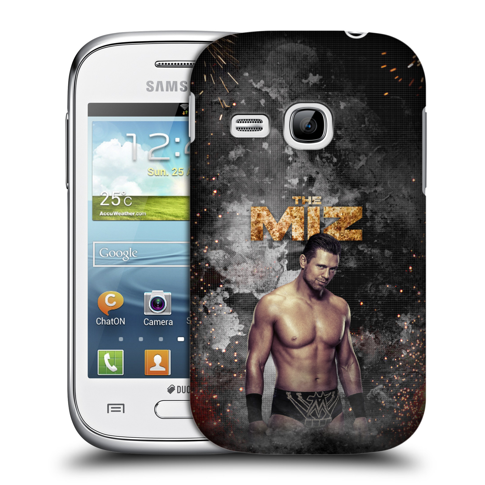 OFFICIAL WWE THE MIZ HARD BACK CASE FOR SAMSUNG PHONES 5