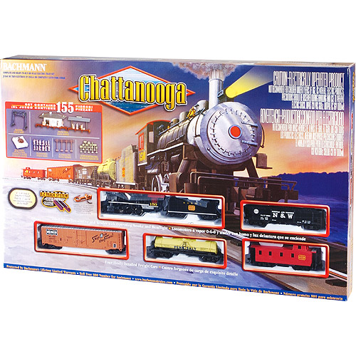 Bachmann HO Electric Train-Chattanooga Train Set
