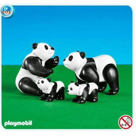 Zoo African Wildlife Panda Family Set Playmobil 7896