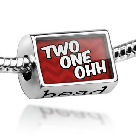 Bead 210 San Antonio, TX red Charm Fits All European Bracelets (Halloween Store San Antonio Tx)