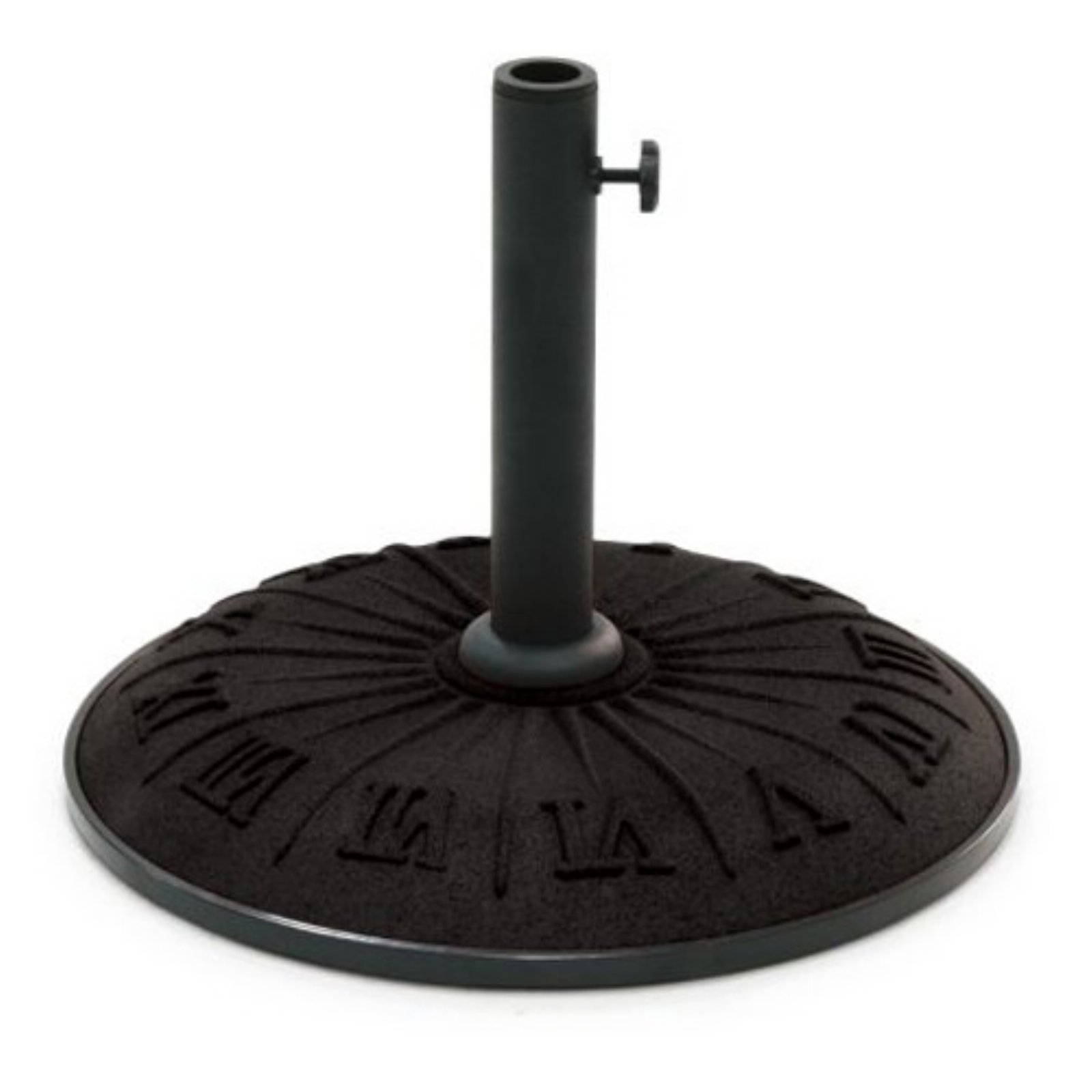 Resin Compound Roman Numeral Umbrella Base