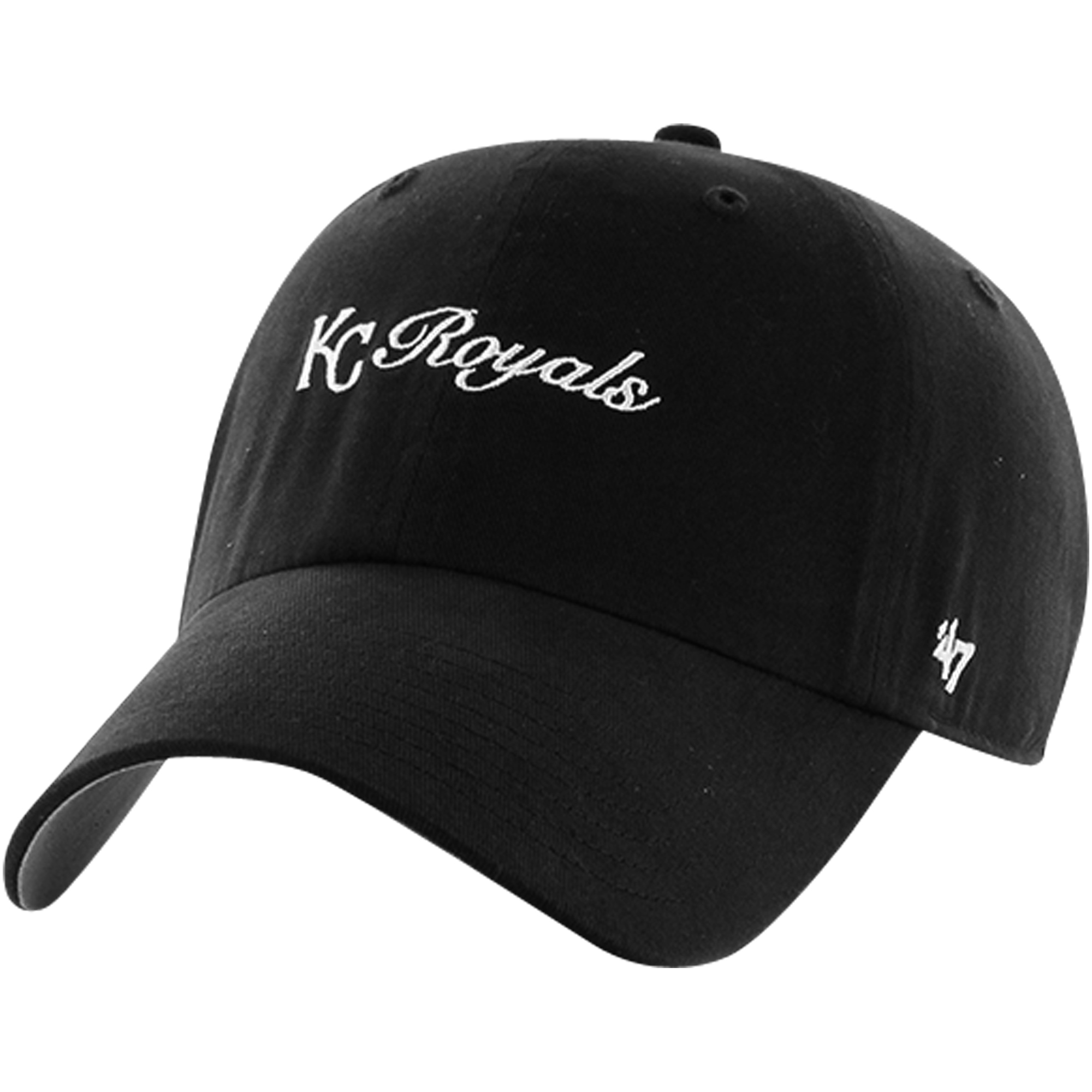 Kansas City Royals '47 Women's Cohasset Clean Up Adjustable Hat - Black - OSFA