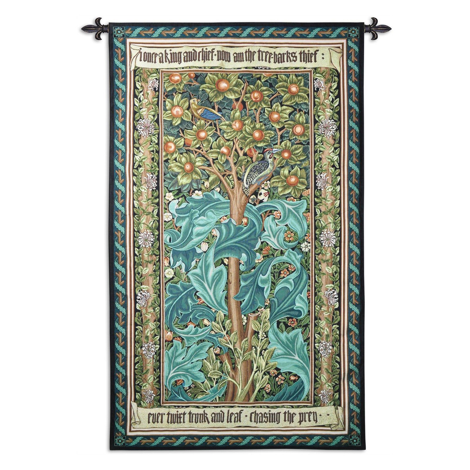 Fine Art Tapestries Woodpecker William Wall Tapestry by Supplier Generic