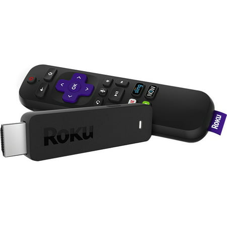 Roku Streaming Stick 3800R Network Audio/Video Player Apple Black Audio Video Player