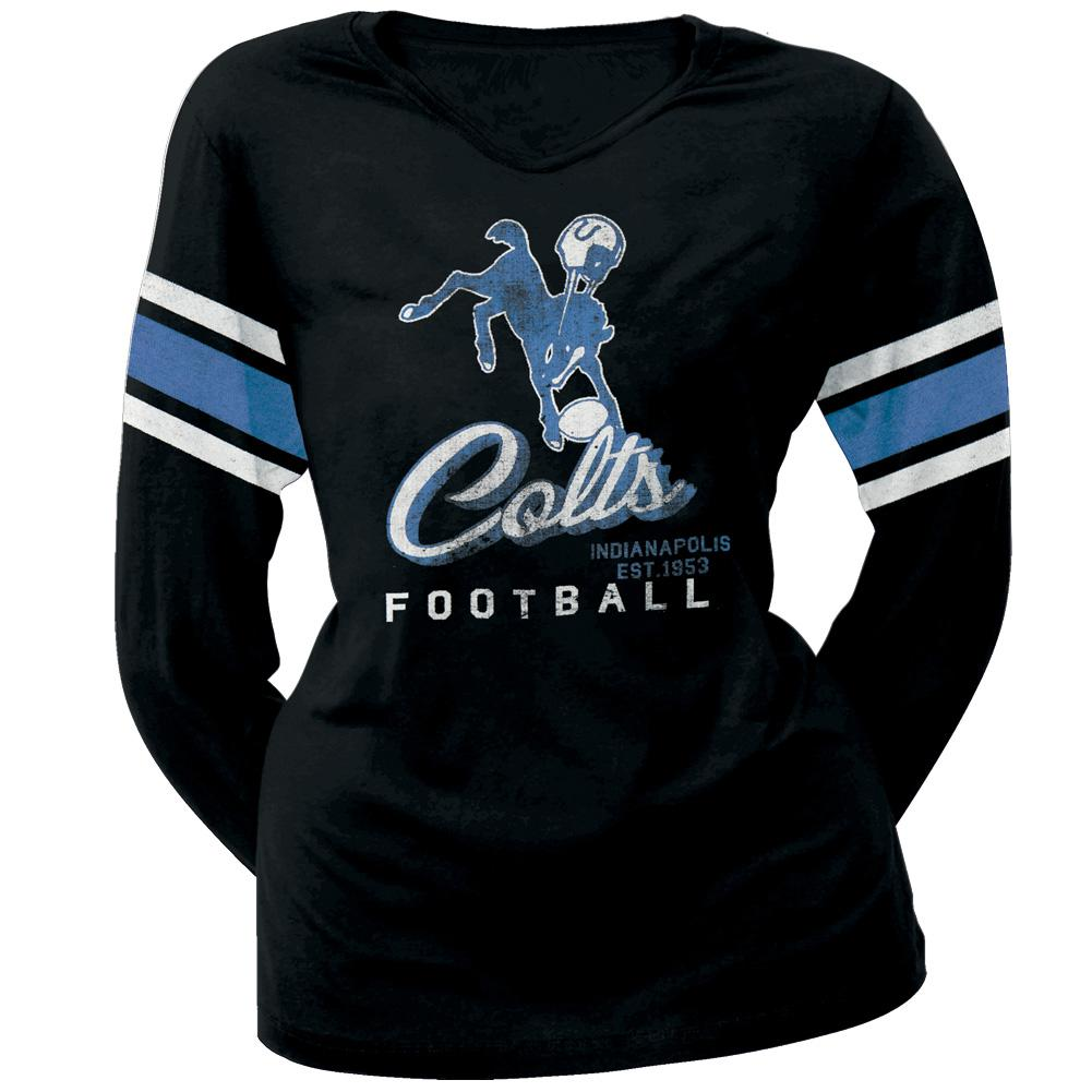 Indianapolis Colts - Homerun Premium Juniors Long Sleeve T-Shirt