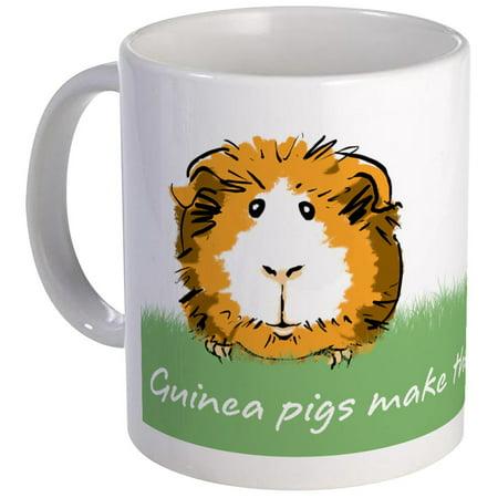 CafePress - Guinea Pigs Make The World A Little Nicer Mug - Unique Coffee Mug, Coffee Cup CafePress