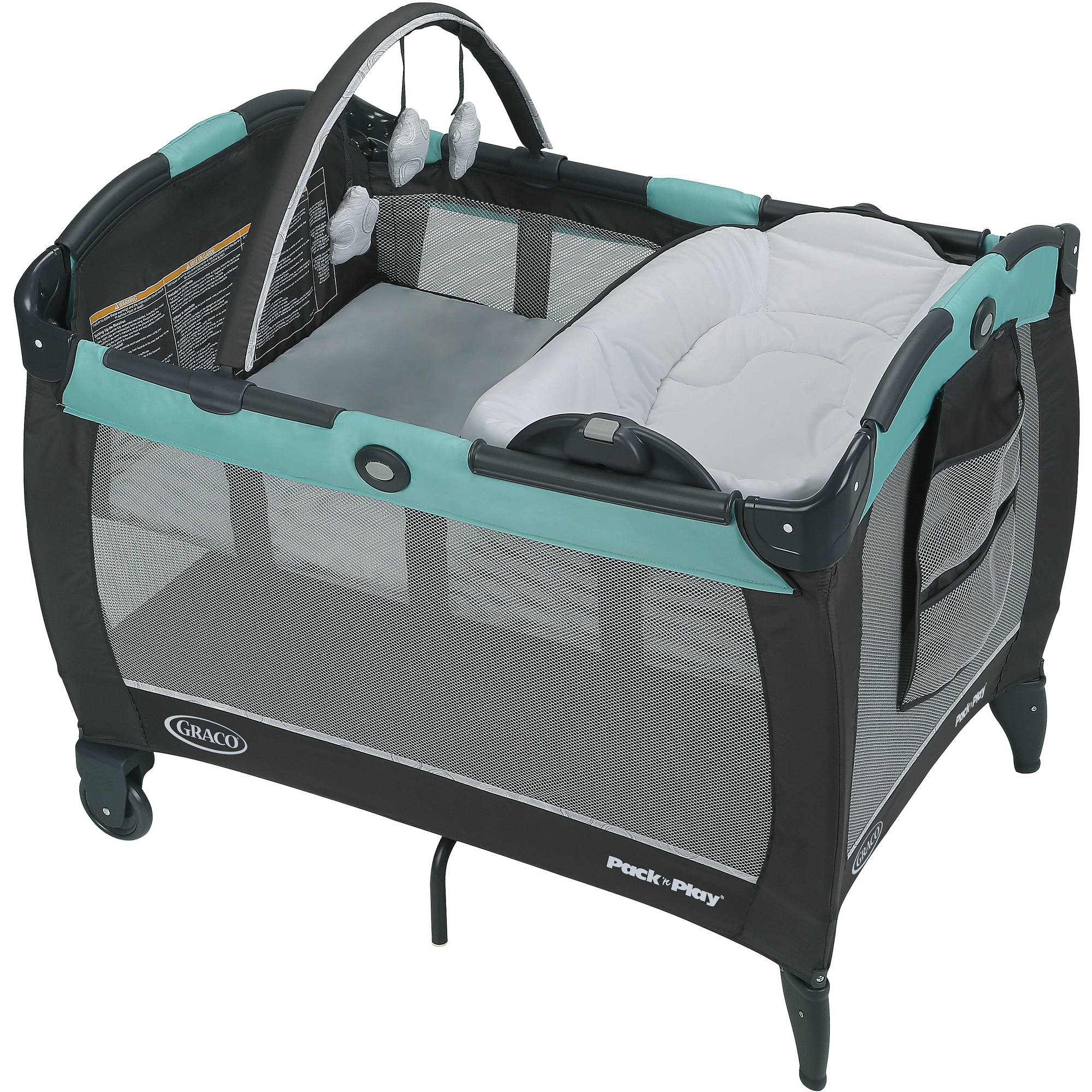 Graco Pack 'n Play Play Pen Reversible Napper & Changer LX Bassinet, Tenley by Graco