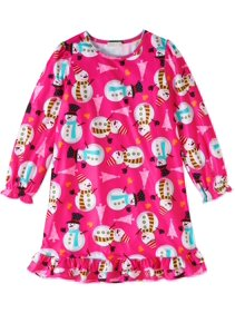 ed948e0183 Komar Kids Big Girls  Dear Santa Nightgown
