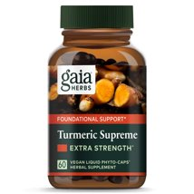 Vitamins & Supplements: Gaia Herbs Turmeric Supreme Extra Strength