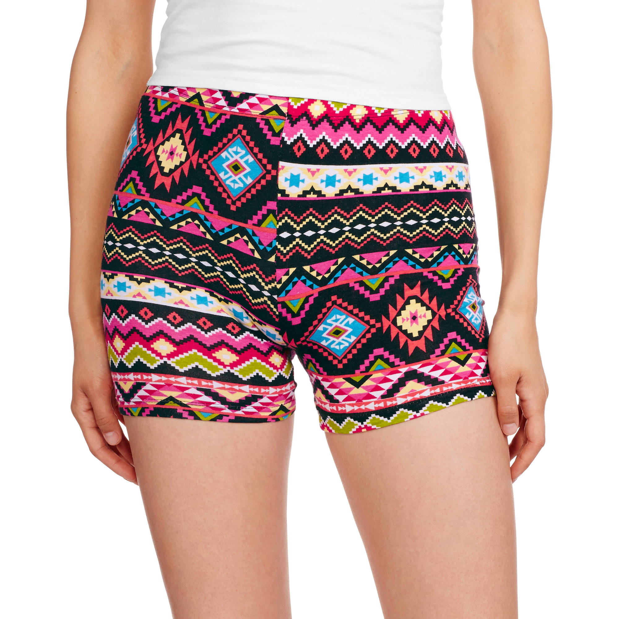 Eye Candy Juniors Printed Cotton Spandex Bike Shorts