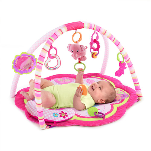 Bright Starts Safari Celebration Activity Gym, Pink