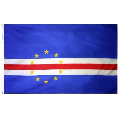 Cape Verde Nylon - Cape Verde - 4'X6' Nylon Flag