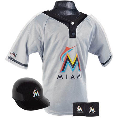 Franklin Sports MLB Uniform Set, Miami Marlins Costume by