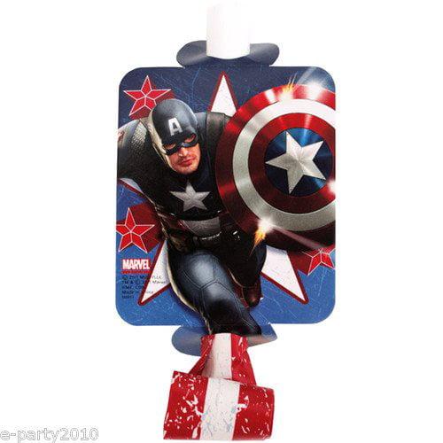 Captain America Blowouts / Favors (8ct)