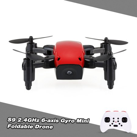 1 Mode Mini (S9 2.4G 4CH 6-axis Gyro Mini Drone Headless Mode One Key Return Foldable RC Quadcopter)