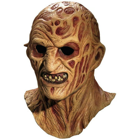 Freddy Krueger Adult Halloween Mask - Walmart.com