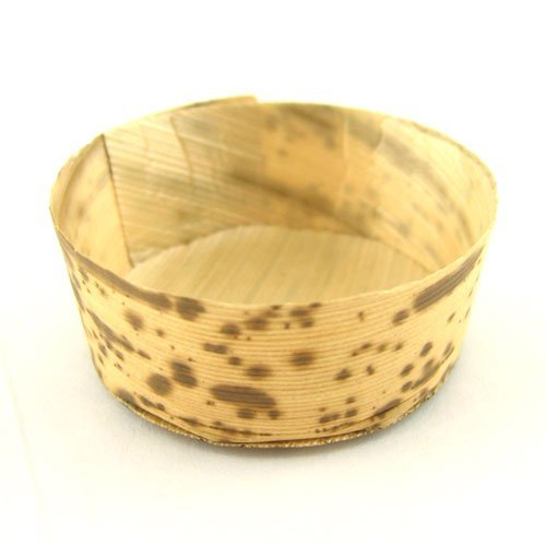 """Bamboo Leaf Round Tubs Ramekins 2.7"""" dia x 1"""" high 100 Pieces By BambooMN by"""