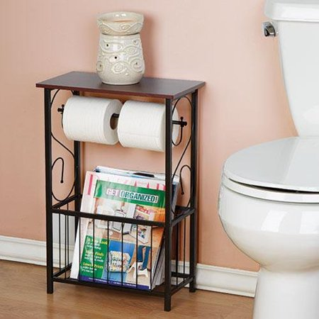 Gramercy Scroll Design Bathroom Table Walmart Com