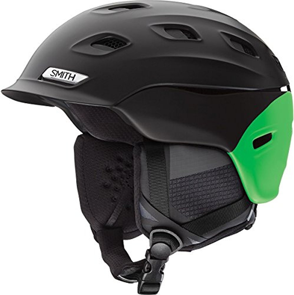 Smith Optics Vantage Ski Snow Helmet (Matte Black Split Medium) by Smith Optics