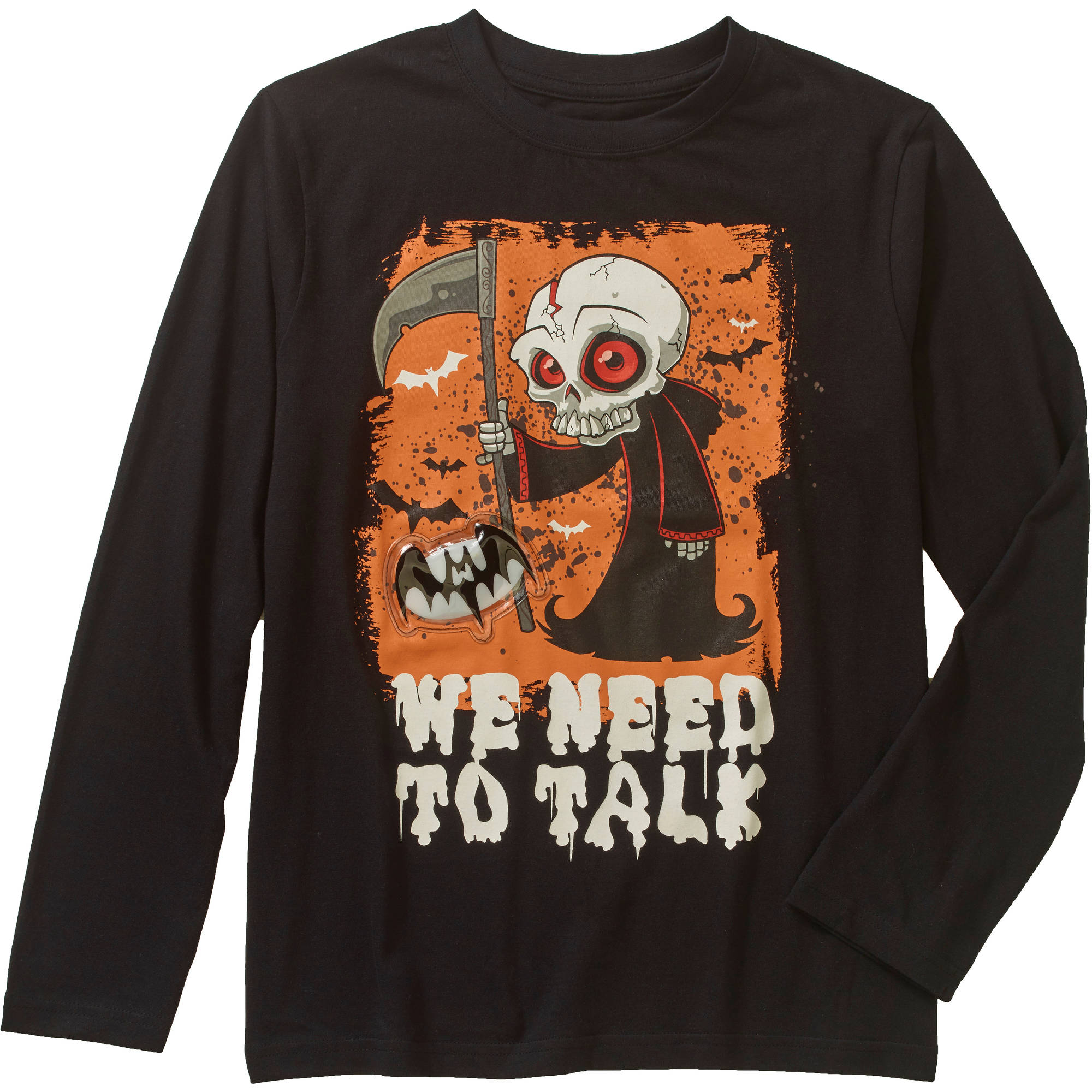 Boys' Light Up Halloween We Need to Talk Graphic Tee