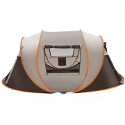5-8 People Large Automatic Camping Tent Windproof Waterproof Family Quick Open