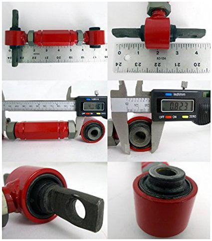 Spec-D Tuning CAM-CV92RDB Honda Civic CRX Del Sol Acura Integra Rear Upper Camber Arm Kit