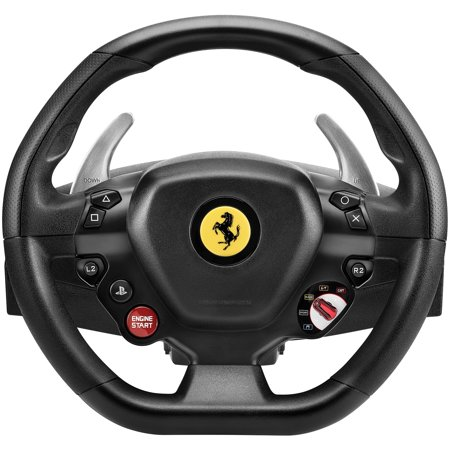 Guillemot Thrustmaster Ferrari - Thrustmaster 4169089 T80 Ferrari 488 GTB Edition Racing Wheel For Playstation4