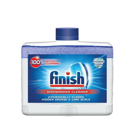 Finish Dual Action Dishwasher Cleaner  Fight Grease   Limescale  Fresh  8 45Oz