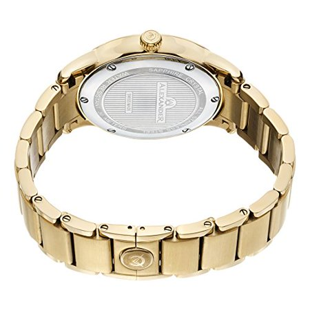 Plated Yellow Gold Watch Mens Designer A102B 03 Walmartcom