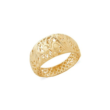 14K Yellow Gold Band Ring (Lord Of The Rings 50 Year Anniversary Edition)