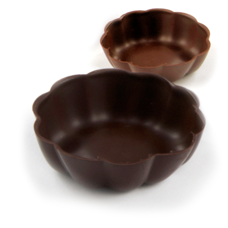 Chocolate Dessert Shell Bowls
