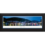 Blakeway Worldwide Panoramas, Inc World Skyline Bergen, Norway by James Blakeway Framed Photographic Print