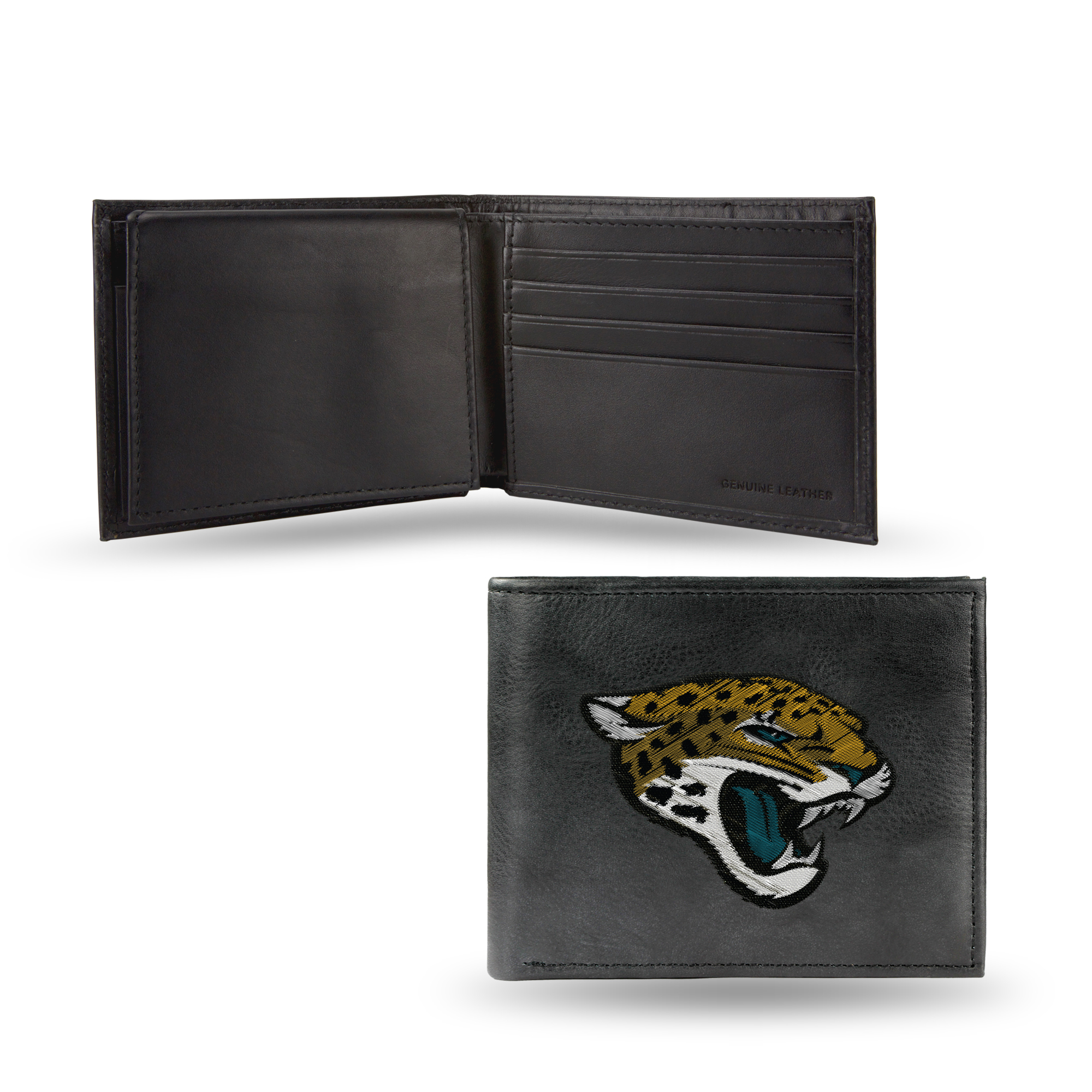 NFL - Men's Jacksonville Jaguars Embroidered Billfold Wallet