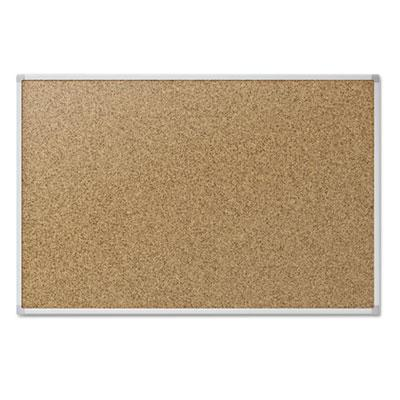 Mead Economy Cork Board with Aluminum Frame