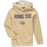 Georgia Tech Yellow Jackets Youth Stack II Pullover Hoodie - Gold