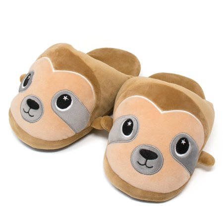 Moosh-Moosh Adult Plush Slipperz - Speedy the Sloth