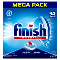 94-Count Finish All in 1 Powerball Fresh Dishwasher Detergent Tablets