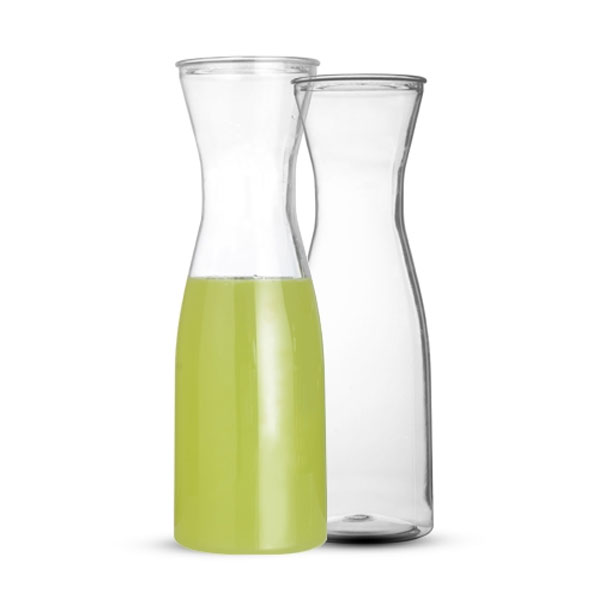 35 Oz. Clear Plastic Wine Carafe Case of 12 by