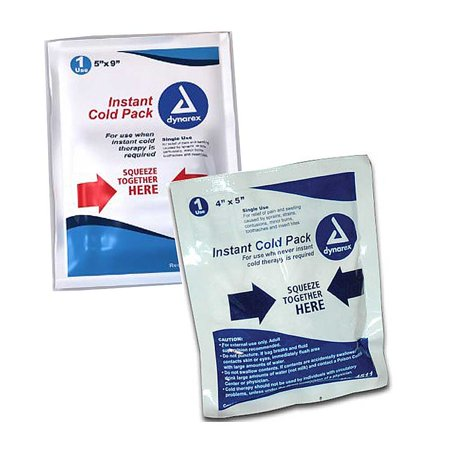 "Dynarex Instant Cold Pack-4"" x 5"" 24/Pack"