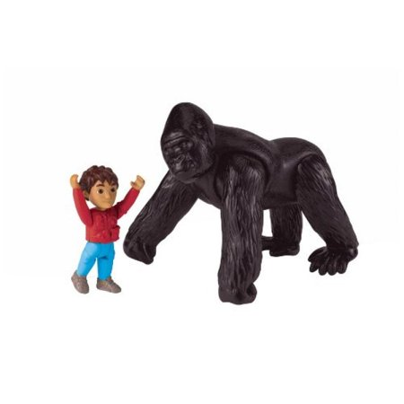 Go Diego Go Toys (Go Diego Go ** Mighty Gorilla Recue Set ** Fisher)