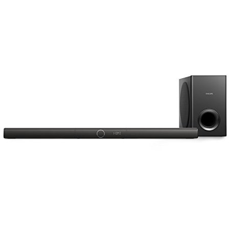 Philips HTL3170B 280-Watt 3.1-Channel Soundbar Speaker with Bluetooth and Wireless