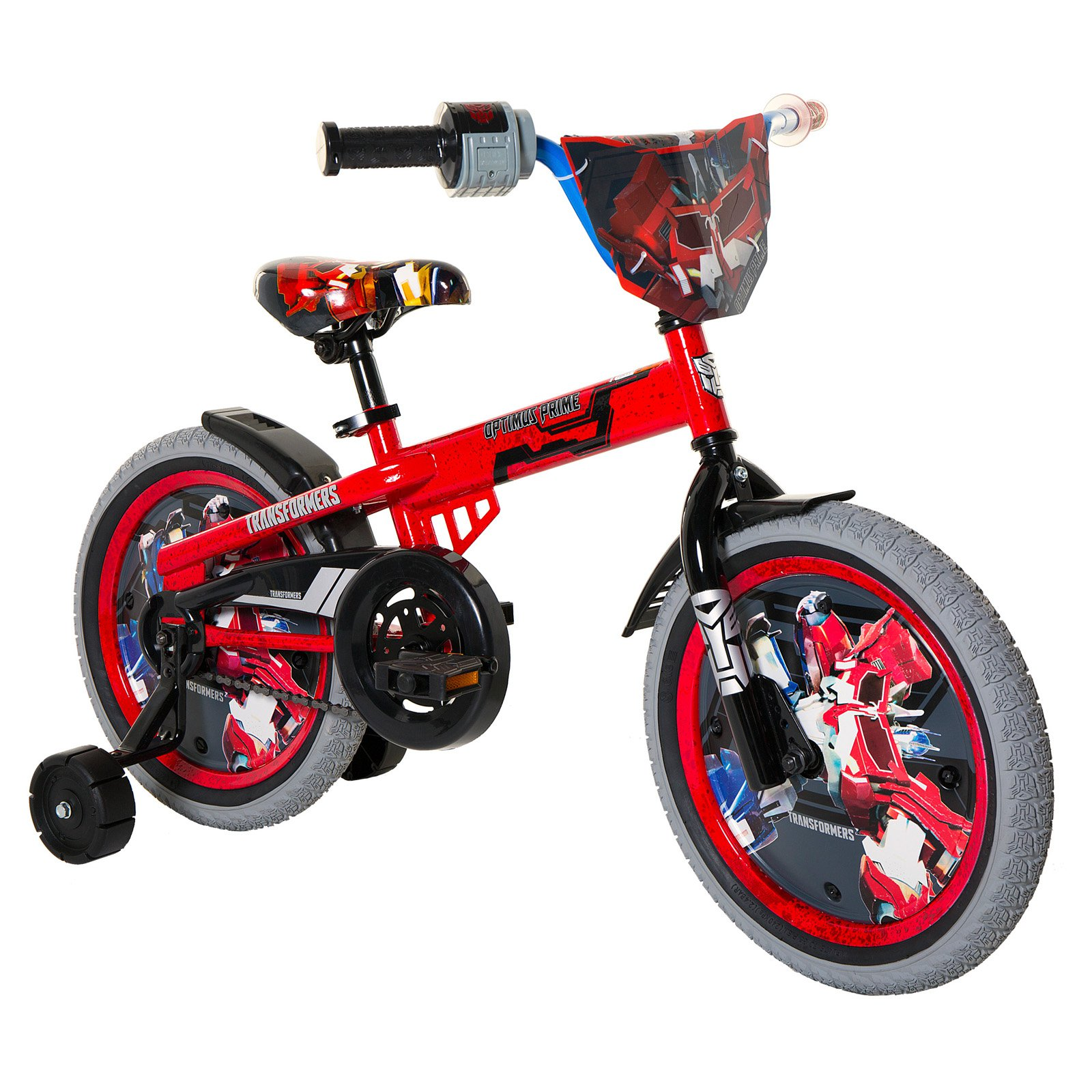"""Transformers Optimus 16"""" Bicycle by Dynacraft"""