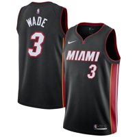 Dwyane Wade Miami Heat Nike Replica Swingman Jersey - Icon Edition - Black