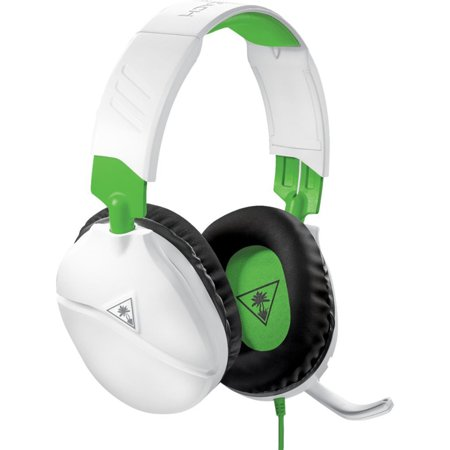 Turtle Beach - RECON 70 Wired Stereo Gaming Headset for Xbox One - White/Green ()