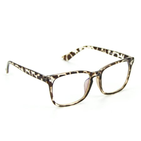 Leopard Pattern Cotton (Cyxus Computer Glasses for Blocking Blue Light UV Anti Eyestrain with Leopard Pattern Frame Women/Girls)