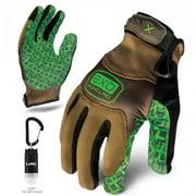Ironclad Performance Wear EXO-PGG-06-XXL EXO Project Grip Glove, 2X-Large, Tan & Green
