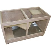 New Age Eco-Concepts Park Avenue Small Animal Indoor Hutch, Maple