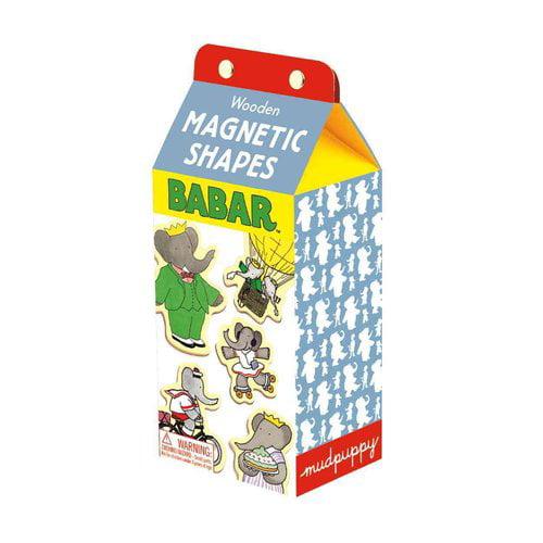Babar Wooden Magnetic Shapes